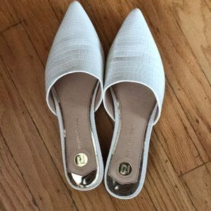 River Island Shoes - River Island white mules